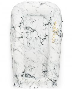 DockATot Deluxe+ Dock Carrara Marble