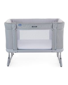 Chicco Next2Me Forever Side Sleeping Crib - Cool Grey