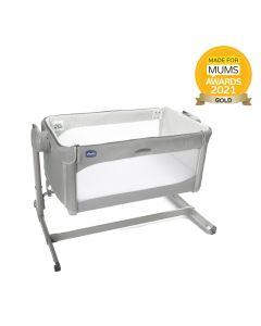 Chicco Next2Me Magic 2 Side Sleeping Crib - Cool Grey