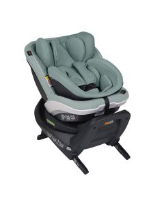 BeSafe iZi Twist B i-Size Car Seat - Sea Green Mélange