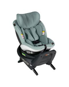 BeSafe iZi Turn i-Size Car Seat - Sea Green Mélange