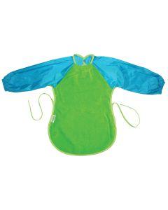 Silly Billyz Towel Messy Eater Bib Lime/Aqua