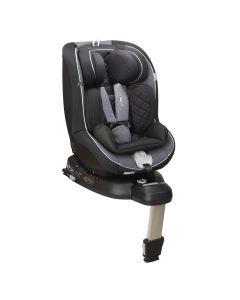 Mee-go Swirl I-SIZE Car Seat - Onyx Black