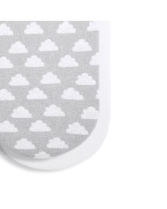 Snüz Moses Basket/Pram 2 Pack Fitted Sheets - Cloud Nine