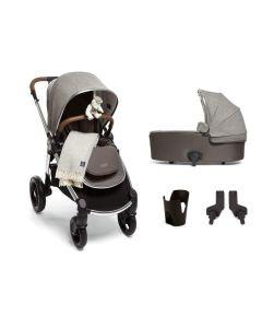 Mamas & Papas Ocarro Pushchair 6 Piece Starter Kit - X Moon Grey Parquet