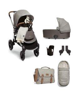Mamas & Papas Ocarro Pushchair 8 Piece Essentials Kit - X Moon Grey Parquet