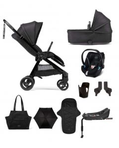 Mamas & Papas Strada Pushchair 9 Piece Aton 5 Complete Kit - Carbon