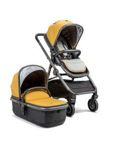 Ark Pushchair & Carrycot Mustard
