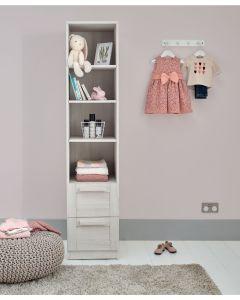 Mamas & Papas Atlas Bookcase - Nimbus White