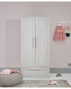 Mamas & Papas Atlas Wardrobe - Nimbus White