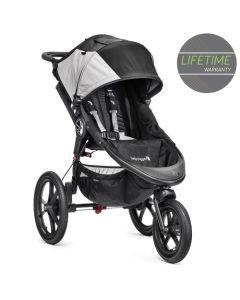 Baby Jogger Summit X3 Single Stroller - Black/Grey