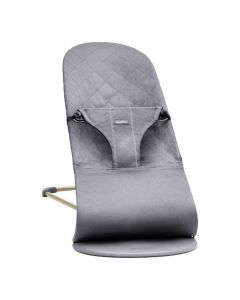 BabyBjorn Bouncer Bliss Cotton - Anthracite