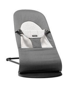 BabyBjorn Bouncer Balance Soft Cotton/Jersey - Dark Grey/Grey