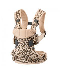 Babybjorn Baby Carrier One Cotton - Beige/Leopard