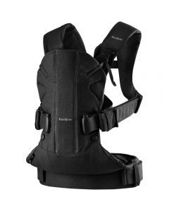 Babybjorn Baby Carrier One Cotton Mix - Black
