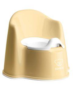 BabyBjorn Potty Chair - Powder Yellow/White