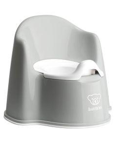 BabyBjorn Potty Chair - Grey/White