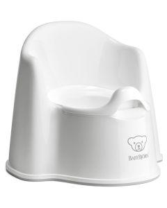 BabyBjorn Potty Chair - White/Grey