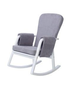 ickle bubba Dursley Rocking Chair Pearl Grey