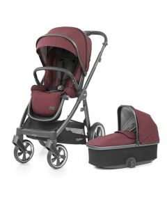 BabyStyle Oyster 3 Stroller and Carrycot - Berry