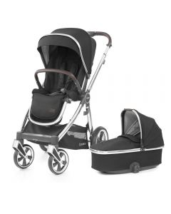 BabyStyle Oyster 3 Stroller and Carrycot - Caviar