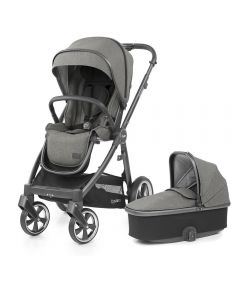 BabyStyle Oyster 3 Stroller and Carrycot - City Grey/Mercury