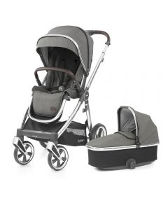 BabyStyle Oyster 3 Stroller and Carrycot - Mirror/Mercury