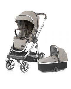 BabyStyle Oyster 3 Stroller and Carrycot - Pebble