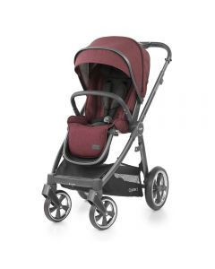 BabyStyle Oyster 3 Stroller City Grey Chassis - Berry