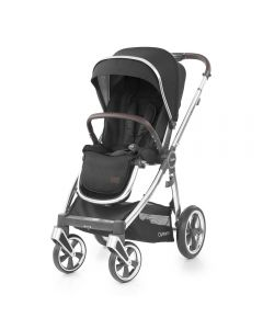 BabyStyle Oyster 3 Stroller Mirror Chassis - Caviar