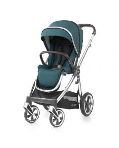 BabyStyle Oyster 3 Stroller Mirror Chassis - Peacock