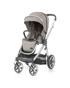 BabyStyle Oyster 3 Stroller Mirror Chassis - Pebble