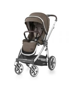 BabyStyle Oyster 3 Stroller Mirror Chassis - Truffle