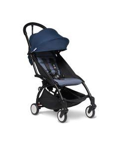 BABYZEN YOYO2 6+ Stroller - Black/Air France Blue