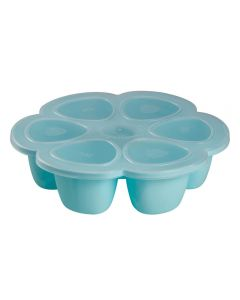 Beaba Multiportions Silicone 6x90ml - Blue