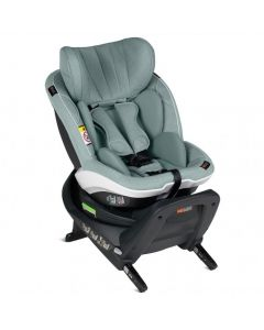 BeSafe iZi Twist i-Size Car Seat - Sea Green Mélange