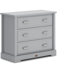 Boori Boori 3 Drawer Dresser (with Squared Changing Station) Pebble