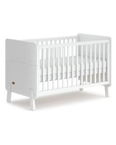 Boori Natty Cot Bed White