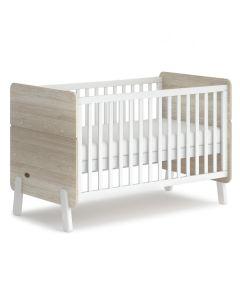 Boori Natty Cot Bed White & Oak