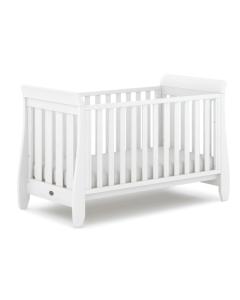 Boori Sleigh Urbane Cot Bed - White