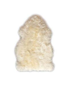 Bozz Lambskin Longwool - White