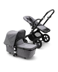 Bugaboo Cameleon3 Plus Pushchair - Black/Grey Melange