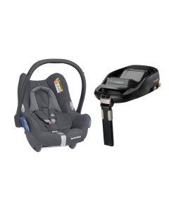 Maxi Cosi CabrioFix Car Seat & Familyfix Base - Essential Graphite