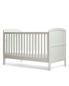 Mamas & Papas Dover Cot Bed - Cool Grey