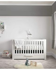 Mamas & Papas Franklin Cotbed - White Wash