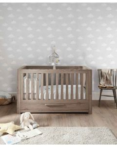 Mamas & Papas Franklin Cotbed - Grey Wash