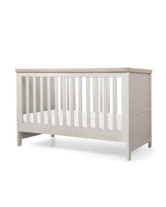 Mamas & Papas Keswick Cotbed - Grey/Oak