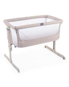 Chicco Next2Me Air Side Sleeping Crib - Dark Beige