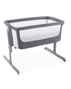Chicco Next2Me Air Side Sleeping Crib - Dark Grey