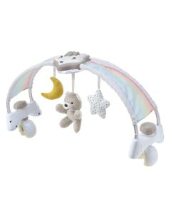 Chicco First Dreams 2 in 1 Bed Arch - Rainbow Sky